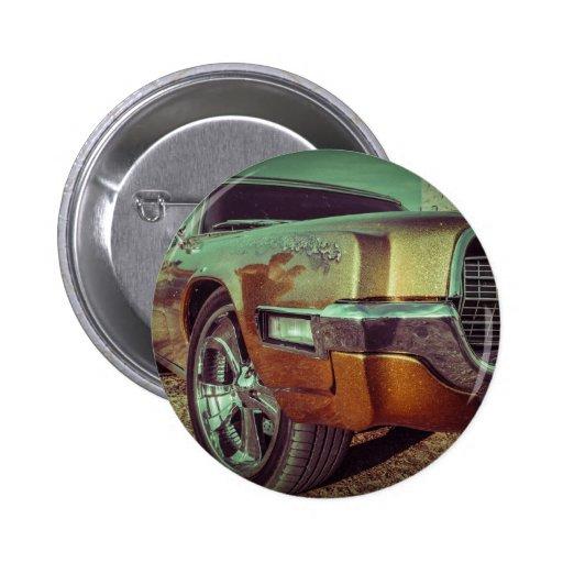Car vintage pin