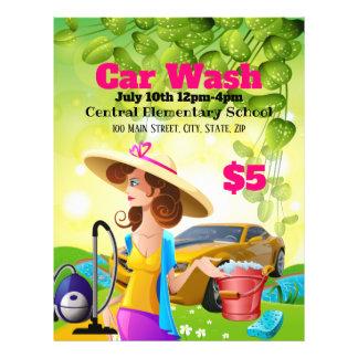 Car Wash Promotional Flyer