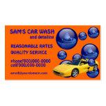 Car Wash Service Business Cards