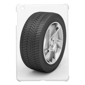 Car wheel cover for the iPad mini