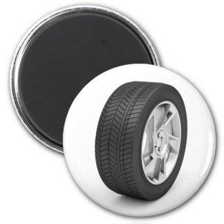 Car wheel magnet