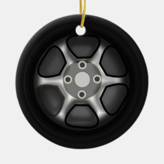 Car Wheel Ornament