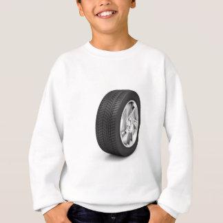 Car wheel sweatshirt