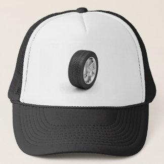 Car wheel trucker hat