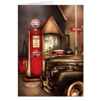 Car - White Flash Gasoline Card
