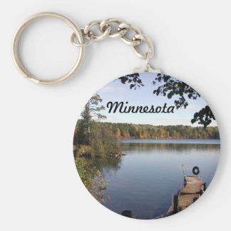 Carabou lake MN Keychain