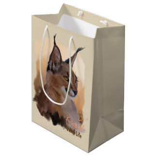 Caracal Medium Gift Bag