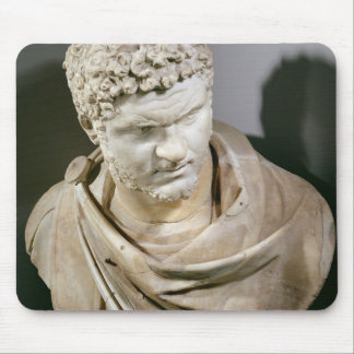 Caracalla, Roman marble cuirassed bust, 212-217 AD Mouse Pad