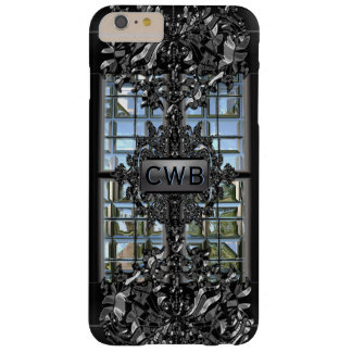 Caradythe Shelly Tough Victorian Monogram Barely There iPhone 6 Plus Case