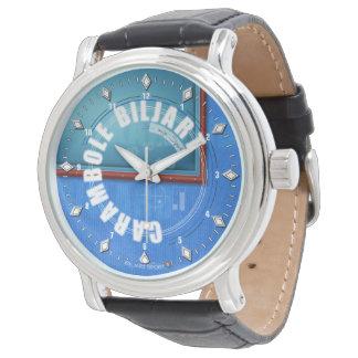 Carambole Biljart Horloge van het empty Wristwatch