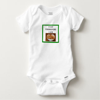 caramel baby onesie