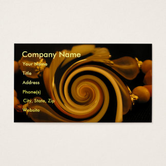 Caramel Candy Bangles Business Card