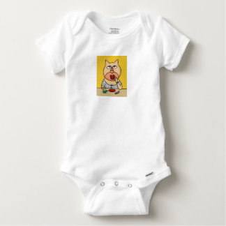 Caramel Caroline Baby Onesie