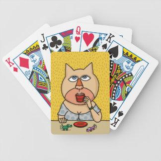 Caramel Caroline Bicycle Playing Cards