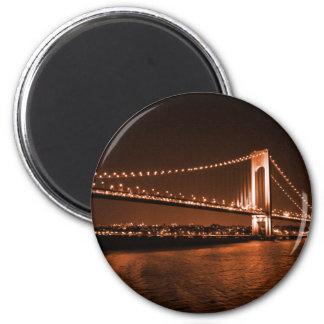 Caramel-cola Bridge magnet