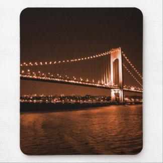 Caramel-cola Bridge mousepad
