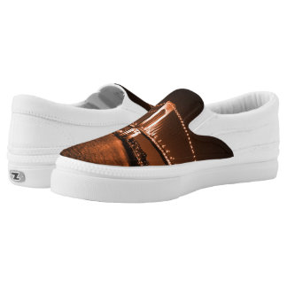 Caramel-cola Bridge Z slipons Slip-On Sneakers