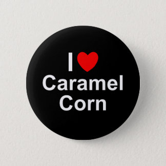 Caramel Corn 2 Inch Round Button