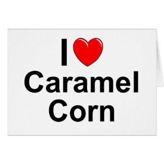 Caramel Corn Card