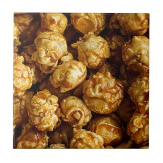 Caramel Popcorn Ceramic Photo Tile