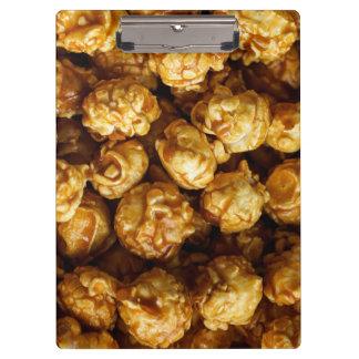 Caramel Popcorn Clipboard