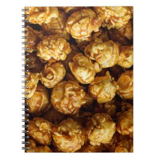 Caramel Popcorn Notebook