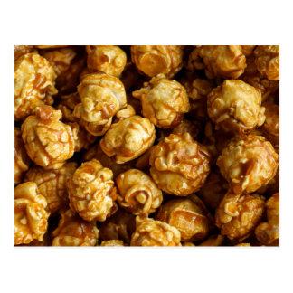 Caramel Popcorn Postcard