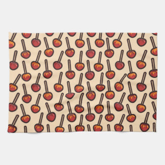 Caramelized Apples Kitchen Towel
