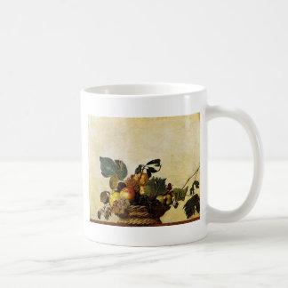 Caravaggio - Basket of Fruit - Classic Artwork Coffee Mug