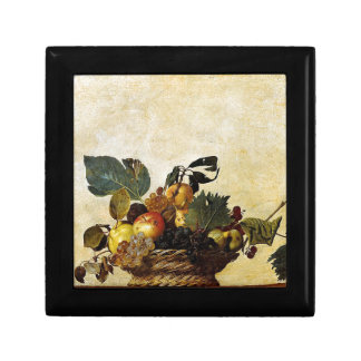 Caravaggio - Basket of Fruit - Classic Artwork Gift Box