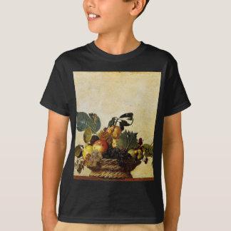 Caravaggio - Basket of Fruit - Classic Artwork T-Shirt