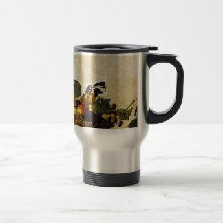 Caravaggio - Basket of Fruit - Classic Artwork Travel Mug