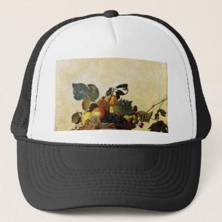 Caravaggio - Basket of Fruit - Classic Artwork Trucker Hat