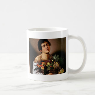 Caravaggio - Boy with a Basket of Fruit Artwork Coffee Mug