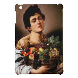 Caravaggio - Boy with a Basket of Fruit Artwork iPad Mini Cover