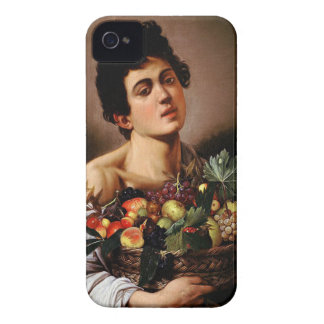 Caravaggio - Boy with a Basket of Fruit Artwork iPhone 4 Case-Mate Case