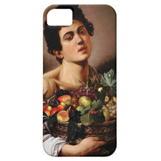 Caravaggio - Boy with a Basket of Fruit Artwork iPhone 5 Case