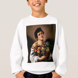 Caravaggio - Boy with a Basket of Fruit Artwork Sweatshirt
