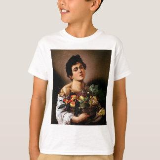 Caravaggio - Boy with a Basket of Fruit Artwork T-Shirt
