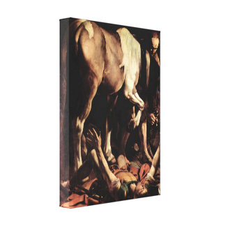 Caravaggio - Conversion of Saul Canvas Print