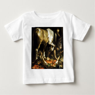 Caravaggio - Conversion on the Way to Damascus Baby T-Shirt