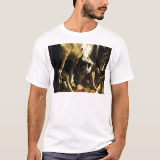 Caravaggio - Conversion on the Way to Damascus T-Shirt