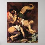 Caravaggio-Crucifixion of St. Paul Poster