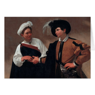 Caravaggio - Good Luck Card