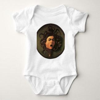 Caravaggio - Medusa - Classic Italian Artwork Baby Bodysuit