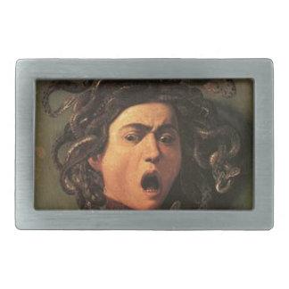 Caravaggio - Medusa - Classic Italian Artwork Belt Buckles