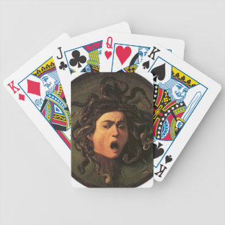 Caravaggio - Medusa - Classic Italian Artwork Bicycle Playing Cards