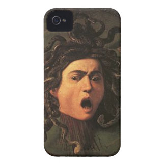 Caravaggio - Medusa - Classic Italian Artwork iPhone 4 Case