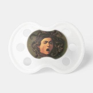 Caravaggio - Medusa - Classic Italian Artwork Pacifier