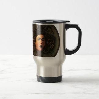 Caravaggio - Medusa - Classic Italian Artwork Travel Mug